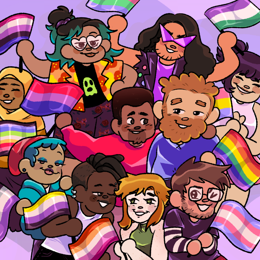 LGBTQ+ students reflect on Pride Month, experiences