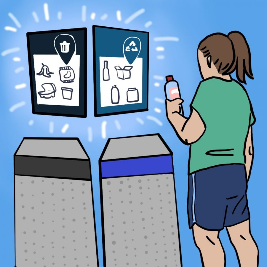 UT working to standardize recycling on campus