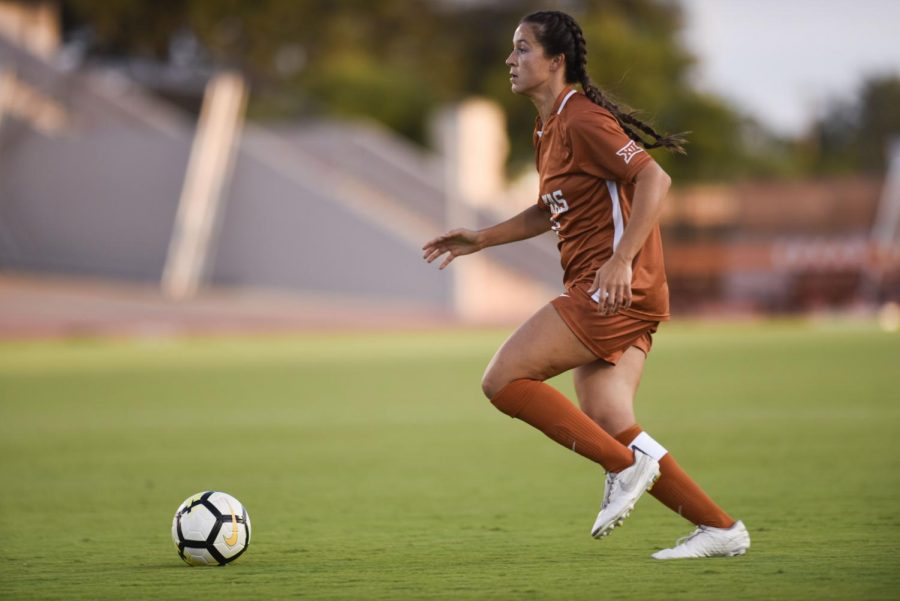 Texas Soccer alum Emily Strouphauer is taking her soccer skills to the medical field