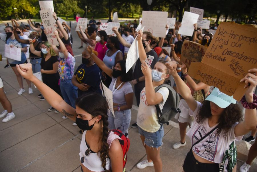 UT students protest anti-abortion bill at Texas capitol