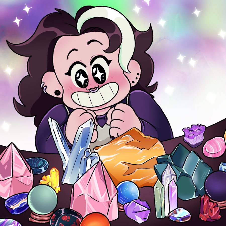Students share thoughts on rising popularity of crystals