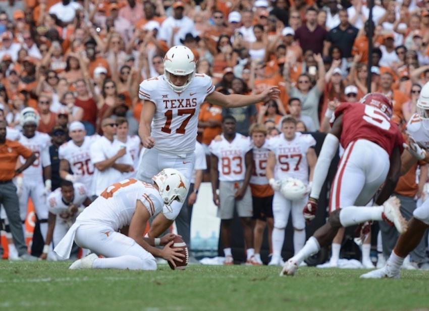 Texan+Tuesday+Football+Talk%3A+Texas-OU%2C+kicker+content%2C+rivalry+talk%2C+and+more