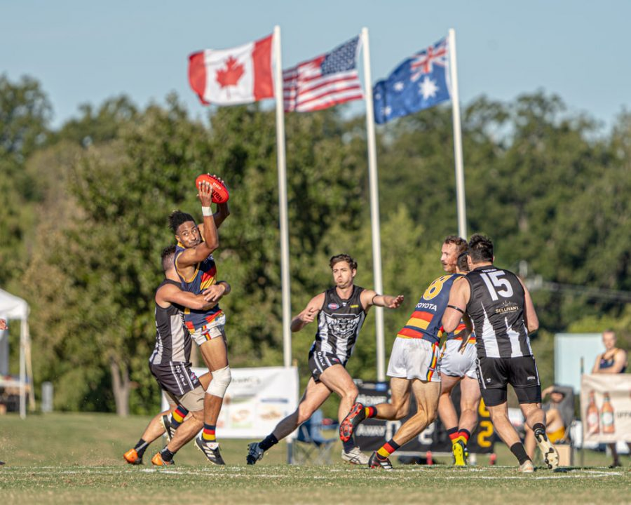 Austin plays host to Aussie rules football nationals