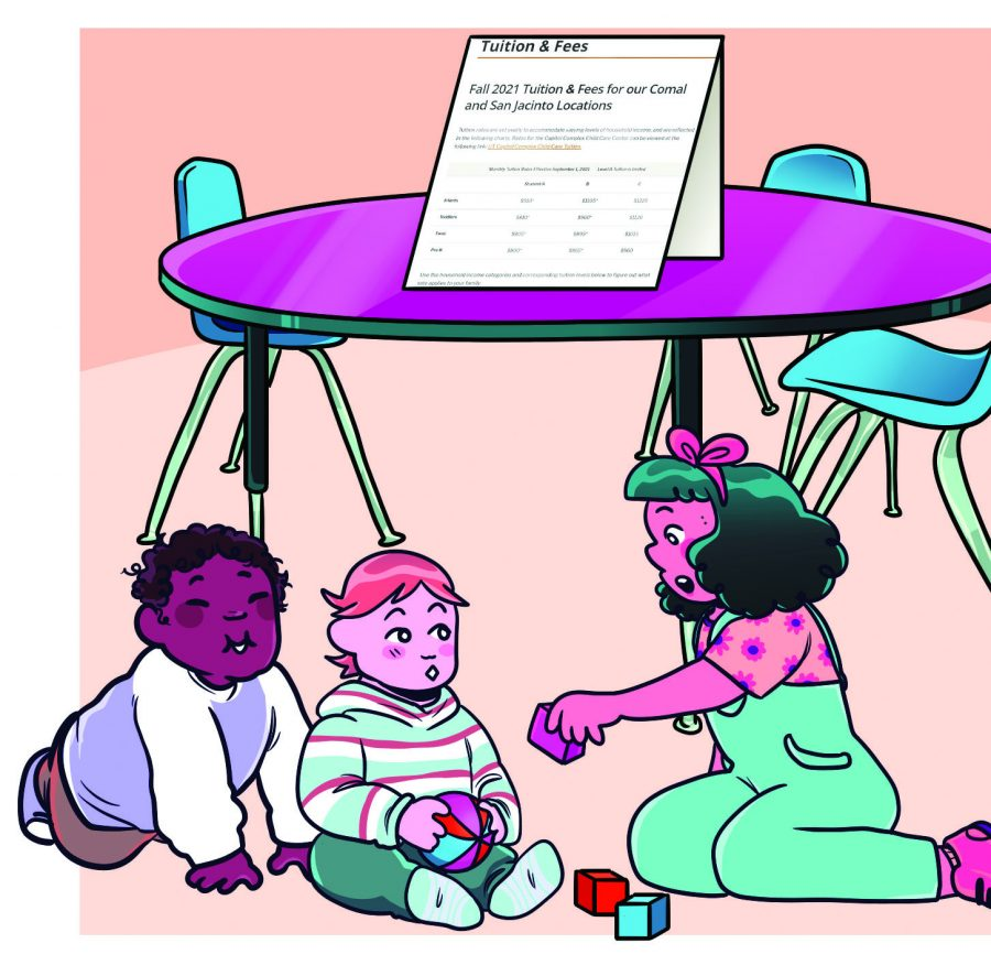 UT-Austin student parents face difficulties navigating University policy on childcare