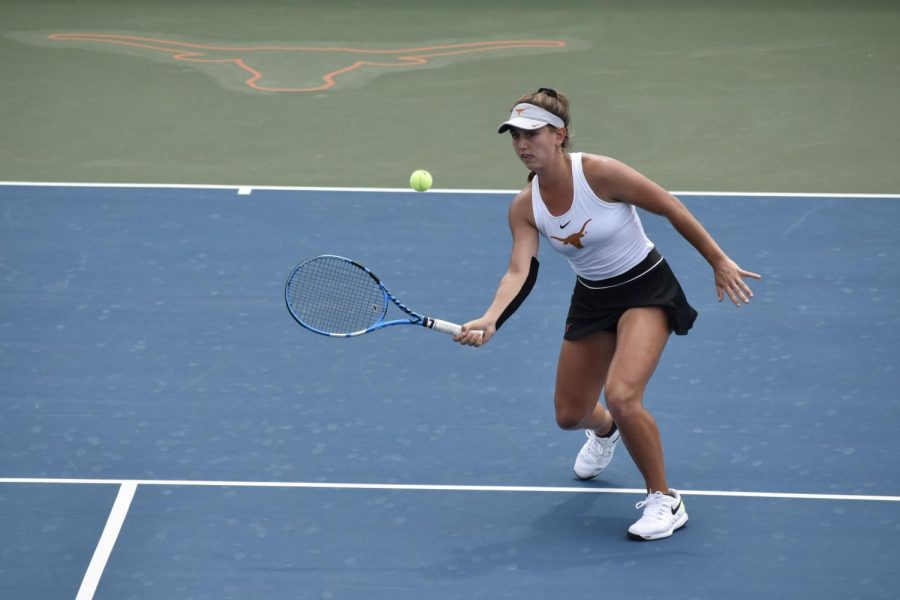 Kylie Collins claims singles title at ITA Texas Regionals