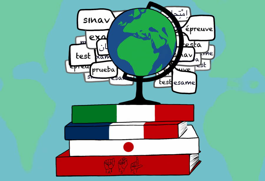 Provide more preparatory material for standardized language exams