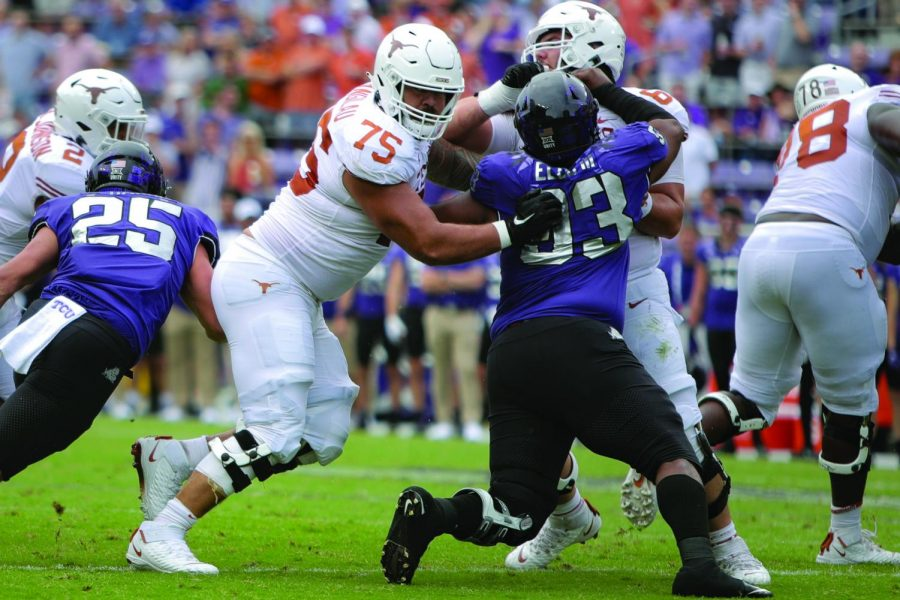 Let the big men eat: Offensive line play will be key to Texas-OU matchup
