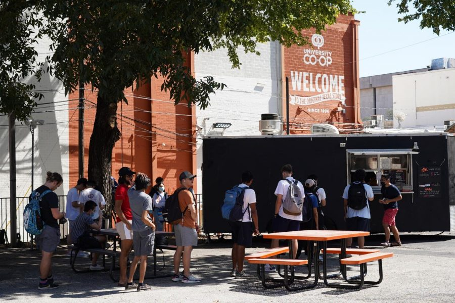 Food truck court behind University Co-op to be replaced by parking lot