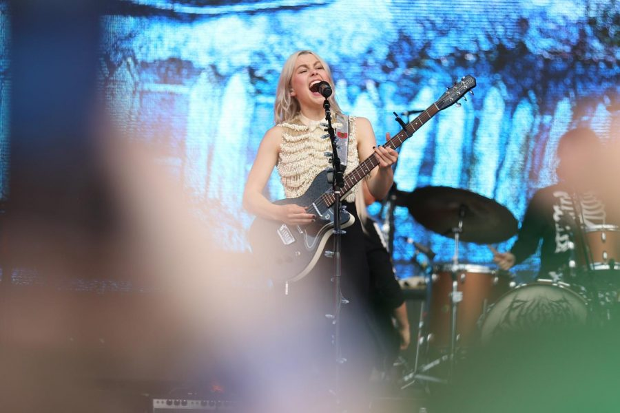 Phoebe Bridgers performs on the Ladybird Stage during Weekend 1 of the 2021 Austin City Limits Music Festival  on Oct. 2.