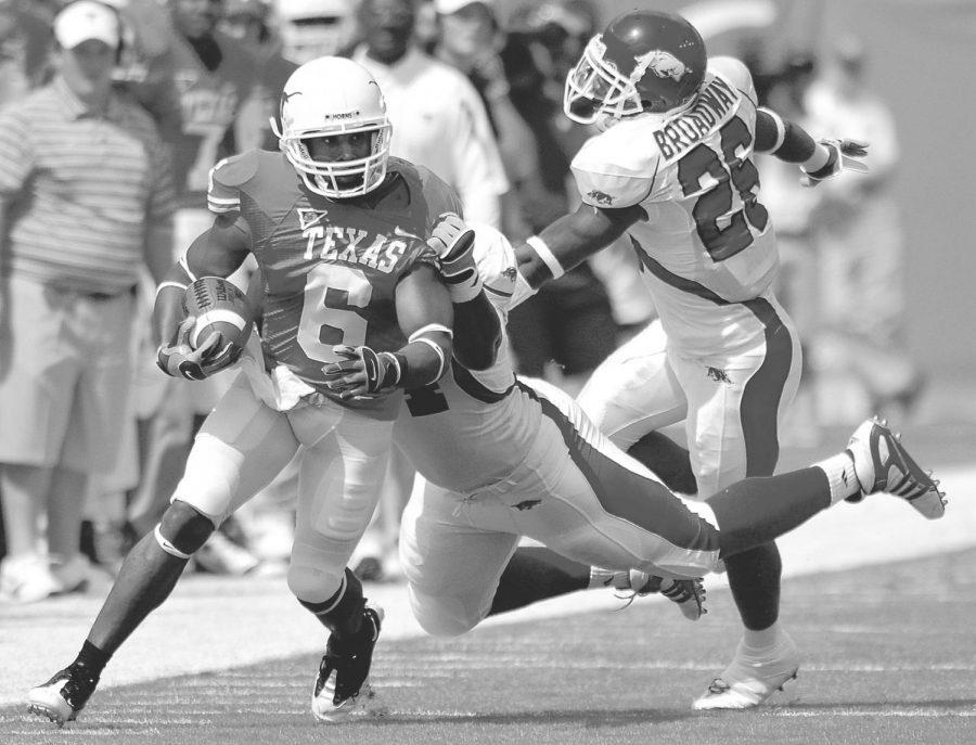 Head-to-head history: Texas vs. Arkansas