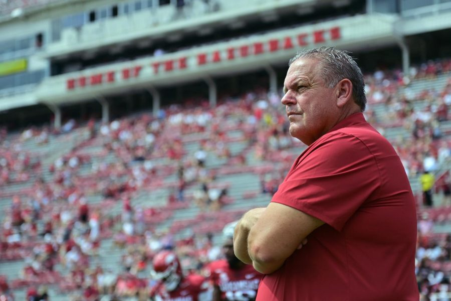 Introducing Sam Pittman, the coach in charge of bringing Arkansas back to national prominence