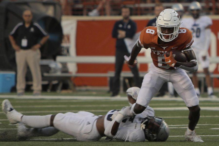 Freshman Xavier Worthy took circuitous path to become Texas' top receiver