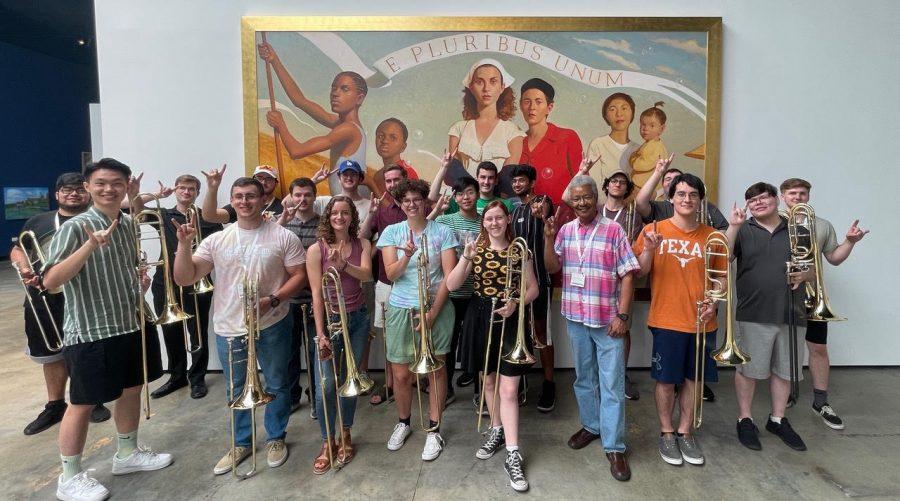Trombone professor receives UT System Regents' Outstanding Teaching Award